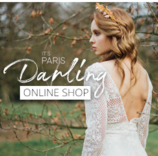 It's Paris Darling - Unique & Modern Lace Wedding Dresses